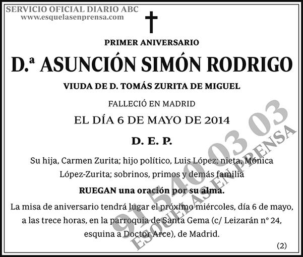 Asunción Simón Rodrigo